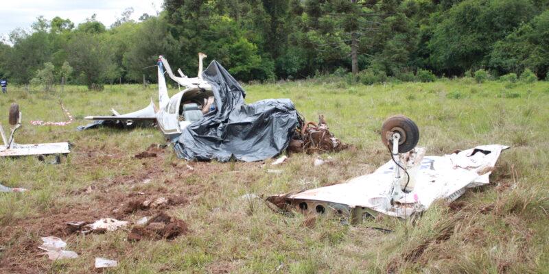 Excesso de peso pode ser causa da trágica queda de avião em Espumoso